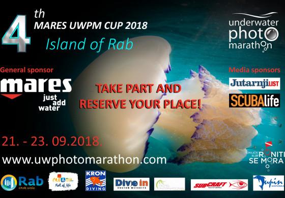 4th Mares Underwater Photo Marathon Cup - Rab