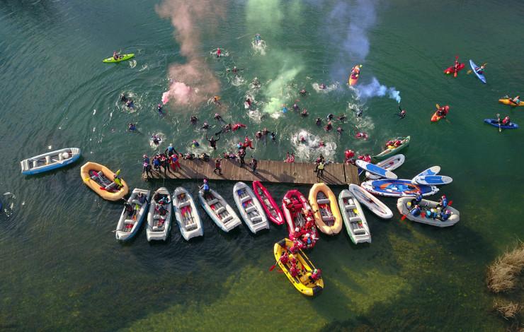 Božićni rafting na Mrežnici 2018.