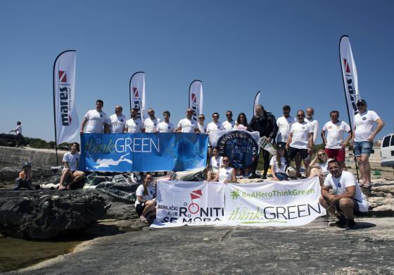 Ekološka akcija Think Green 2019 na Otoku Visu